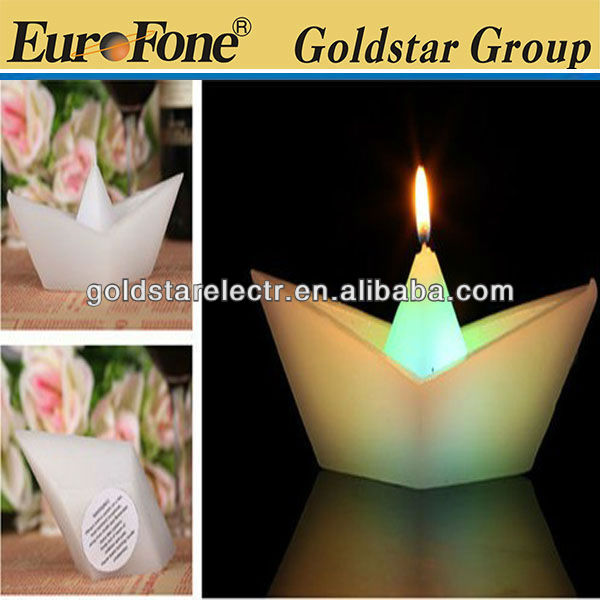 Different shape wax led candle/magic candle
