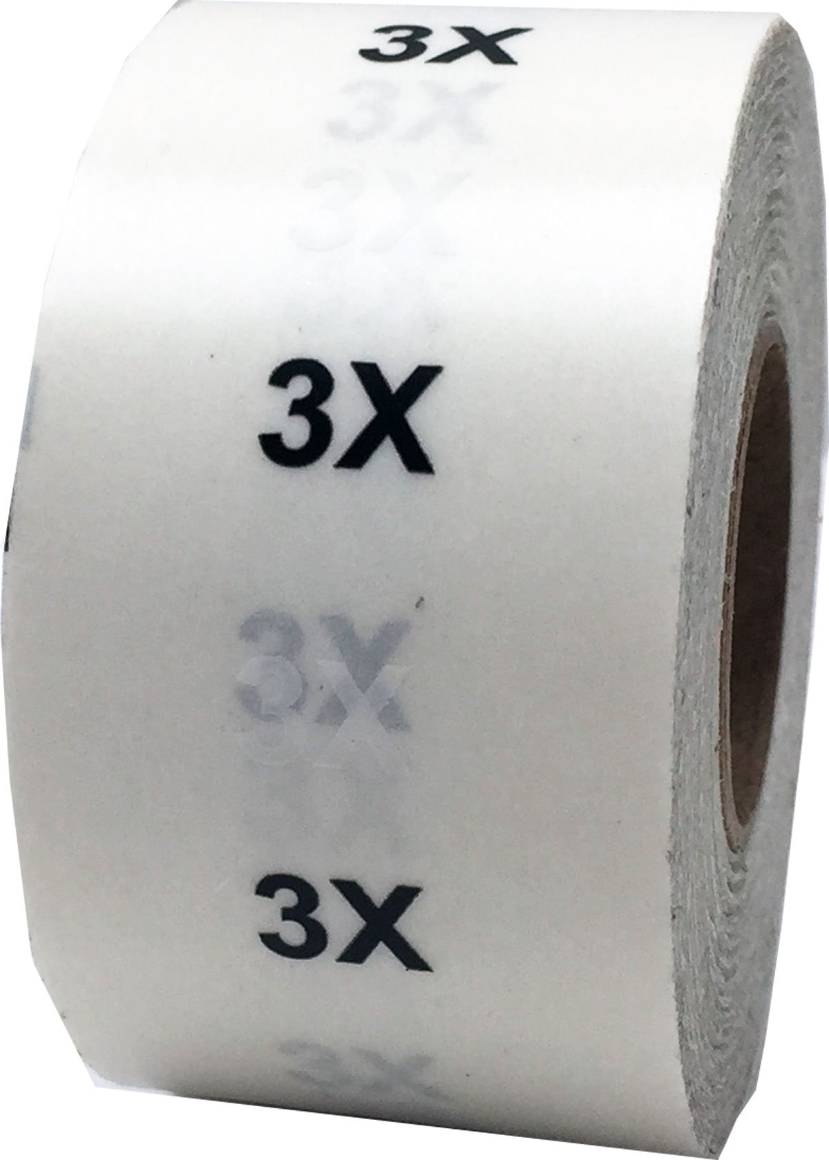 3X New Modern Style Clear Clothing Size Stickers For Retail Store Supplies Apparel Safe Adhesive Size Labels For Clothing 125 Size Labels On A Roll Stick On Clothing Labels