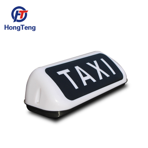 2018 New design taxi top advertising signs light box