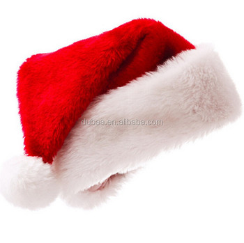 1951c028d4 Fashion Adult Red Father Christmas Xmas Party Santa Fancy Dress Costume Hat