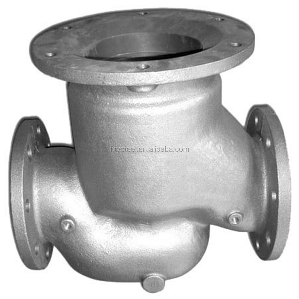 investment precision casting stainless steel pump body parts
