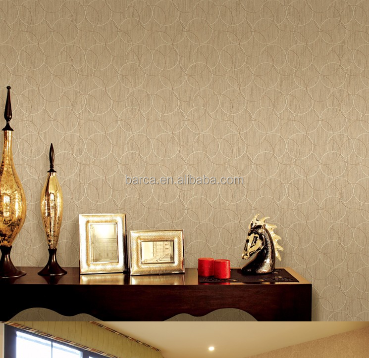 3d round circle Indoor fashion mural wallpaper closeouts