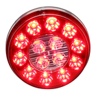 12V DC 4 inch round LED truck signal light with waterproof IP67 and DOT