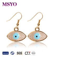 MSYO brand earring stud fashion simple gold earring designs for women