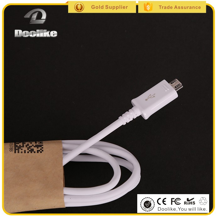 2018 hot sale High quality fast charging micro usb charger cable for samsung mobile phones