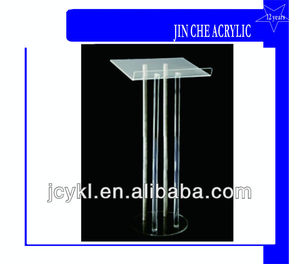 Acrylic and Aluminum Lectern