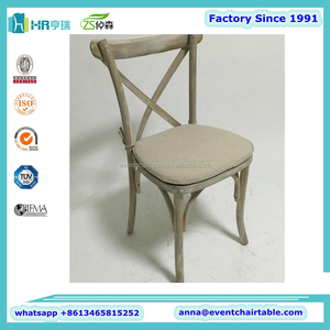 Chiavari Tiffany Phoenix Napoleon Thonet Wood stacking cross back chair