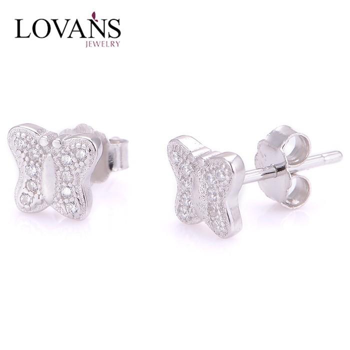 New Stud One Gram Gold Earrings Designs Jewelry Korea Design Fe016 ...