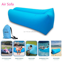 Wholesale Lounger Fast Inflatable Portable Outdoor/Indoor Wind Bed Lounger,Air Sofa Cum Bed, Hangout Bag