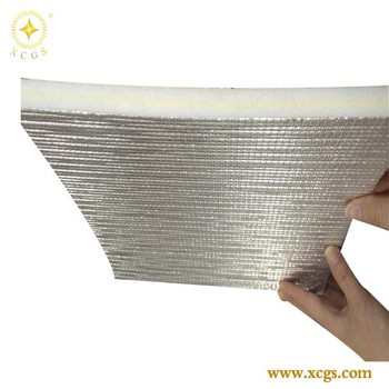Self-adhesive Foam Insulation/ Aluminum Foil Backed Insulation ...