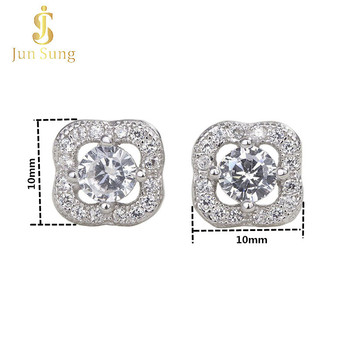 Wholesale 925 Sterling Silver CZ Stud Earring for Women and Girls