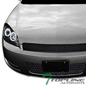 for IMPALA 06-13//IMPALA LIMITED 14-16 FRONT BUMPER ABSORBER Impact Plastic