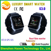 Best Smart Safety Watch with SOS GPS Google Map App for Family Memeber or Caregiver Perfect watch for Independant Older Adults