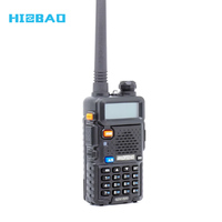 BaoFeng UV 5R 5 Watt Dual Band Two-Way Radio 136-174MHz VHF & 400-520MHz UHF