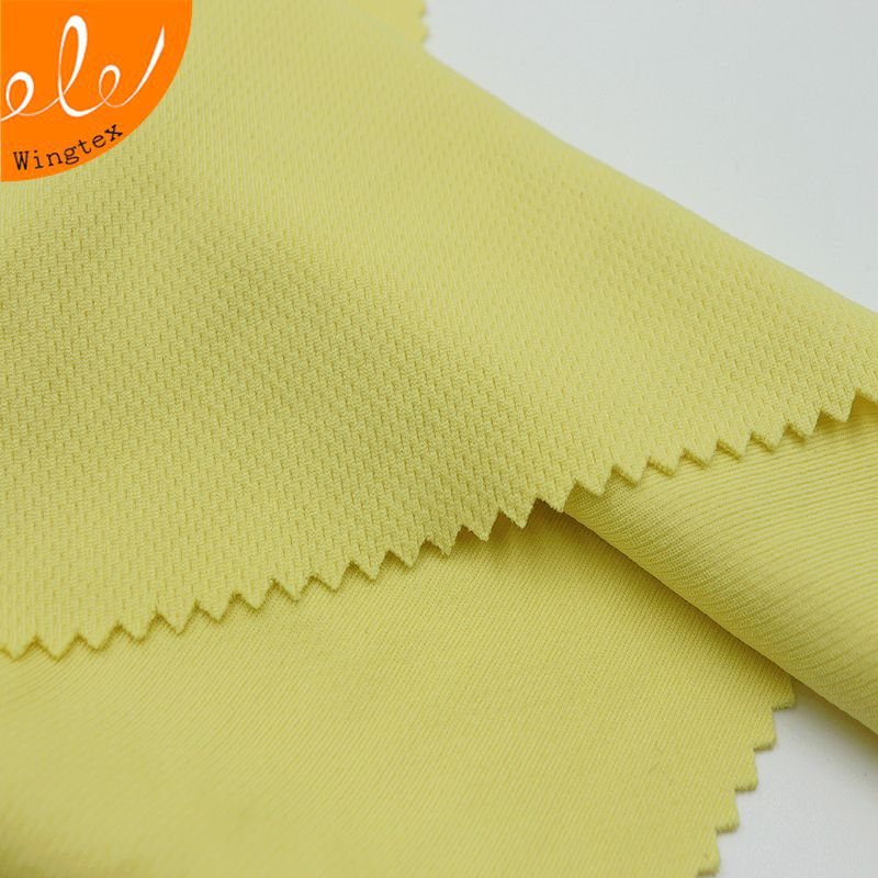 175g 100% polyester dry fit bird eye fabric for textile