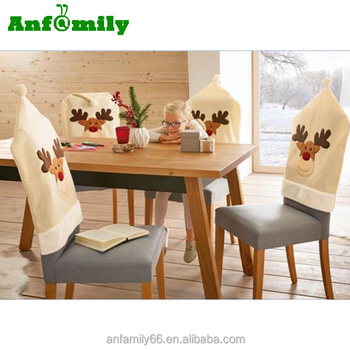 Christmas Chair Back Covers.Fashion Christmas Deer Dining Chair Back Covers Party Xmas Table Decoration Buy Christmas Chair Cover Deer Dining Chair Back Cover Party Table