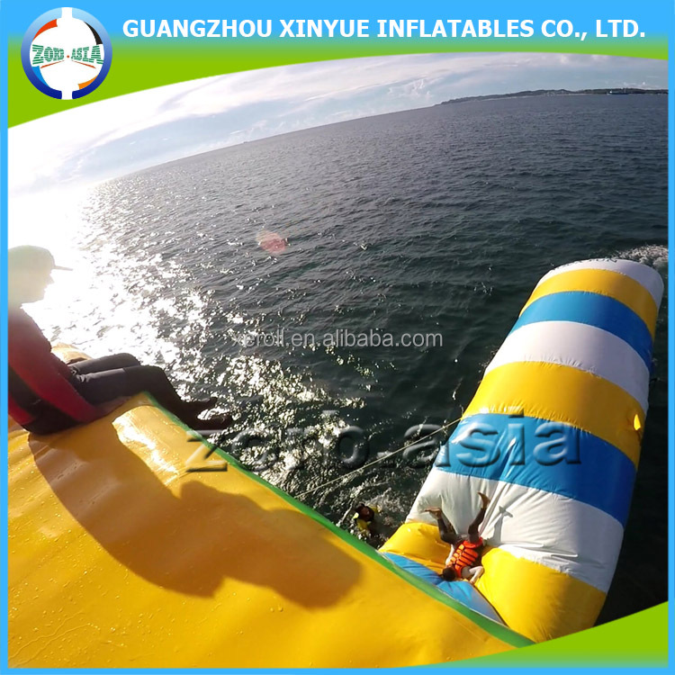 Wholesale giant inflatable water launcher for blob game