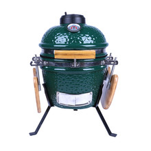 Kamado verde Mini Tabletop Churrasqueira Cerâmica/Ovo <span class=keywords><strong>CHURRASCO</strong></span> <span class=keywords><strong>Fumante</strong></span>