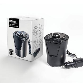 Universal 90 degree foldable 3. 5mm jack mini car stereo fm.