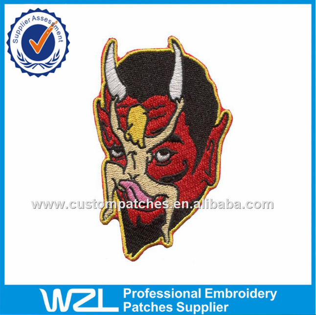 Unique heat seal patch, Factory price iron on embroidery clothing logo epaulettes