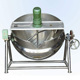 Industrial Automatic Tiltable sandwich cauldron for dairy product/jam/tomato paste/chili sauce