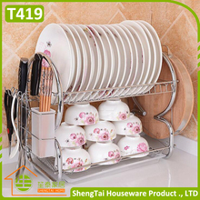 Wholesale Price Bright Color dish racks bowl storage stand