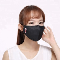 PM2.5 mask with Activated carbon filter anti dust Windproof Mouth-muffle bacteria proof Flu Face masks