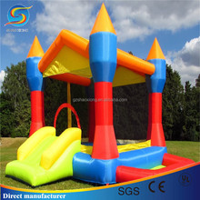 Hot Children inflatable jumping bouncer Castle with PVC Tarpaulin material from Plato