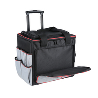 Large Size Water Resistant Mechanics Rolling Tool Bag With Wheeled