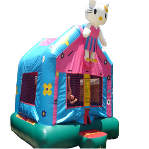 Lovely Hello Kitty Inflatable Bouncer Castle, Inflatable Castle Jumping Bouncer For kids