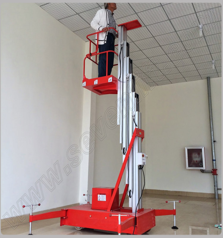 One Man Hydraulic Ladder Lift