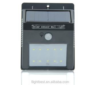 Online Retail Outdoor Small Solar Building Lights,Solar Motion ...