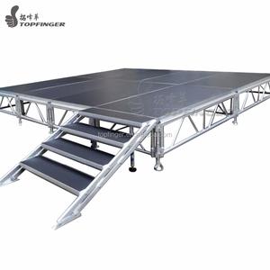 Cheap Folding Used Outdoor Event Concert Dance Aluminum Exhibition Light  Mobile Portable Stage Platform For Sale