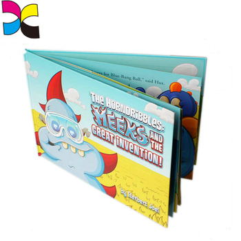 OEM design recycle educational student children's full color picture exercise book