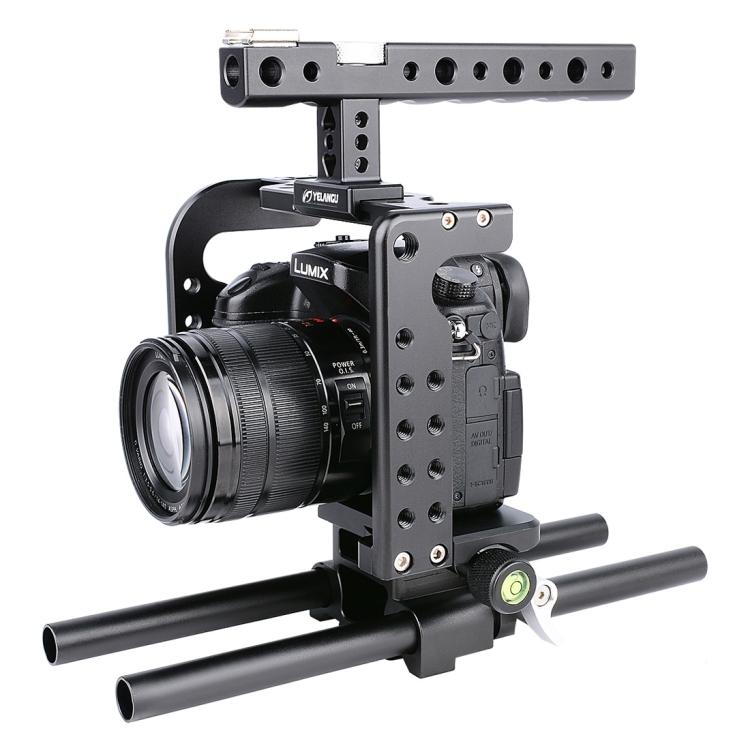 Pro Video Stabilizing Handle Grip for Panasonic Lumix DMC-GF2 Vertical Shoe Mount Stabilizer Handle