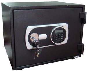 Digital fireproof safe locker with knob for home use