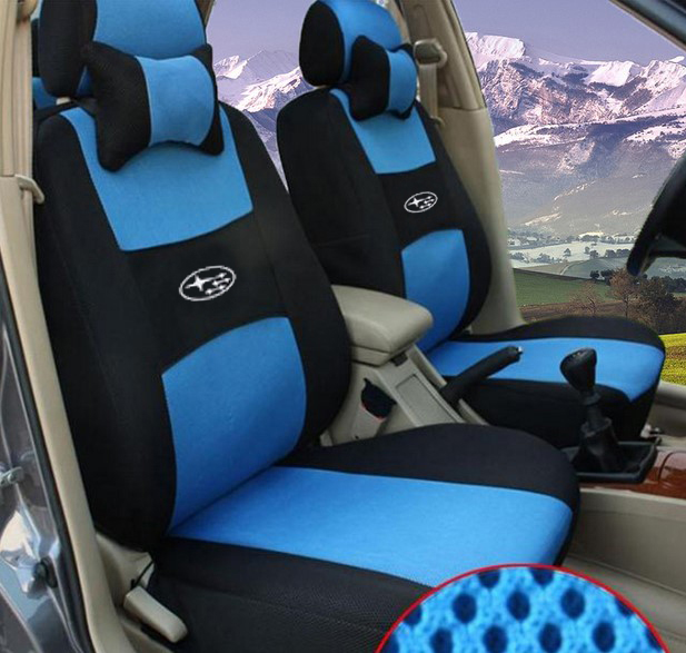 hot universal car seat cover subaru forester 2014 heritage xv impreza legacy brz outback tribeca. Black Bedroom Furniture Sets. Home Design Ideas