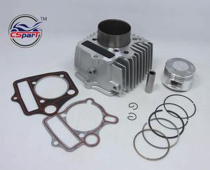 54mm Big bore cylinder piston ring kit fit for Loncin Lifan ZongShen 110cc  pit bike ATV engine to 125cc