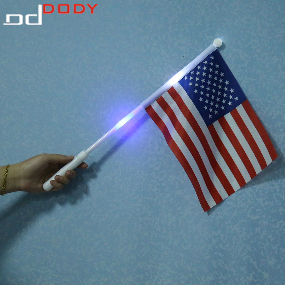 Led Lighting American Flag For Independence Day