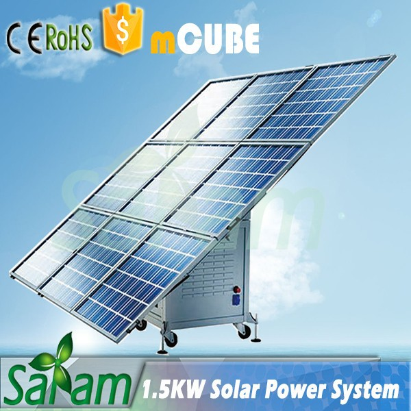 1 5kw Mobile Cube Stand Alone Solar Power System Buy