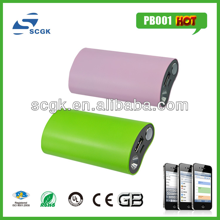 lattest portable power bank 2012 mobile phone accessories for samsung galaxy note/ ipad/ipod/iphone 5 all mobile phones