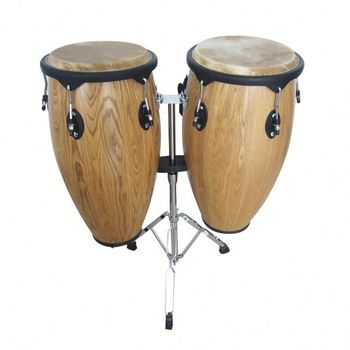 Professional musical instrument drum sets for sale, kinds percussion instruments conga drum with  a steel frame