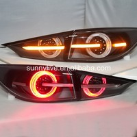 LED rear light For MAZDA 3 Axela Sedan LED Strip Tail Lamp 2015 Clear cover TW