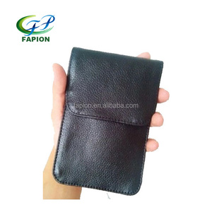 universal two smart mobile phones leather case