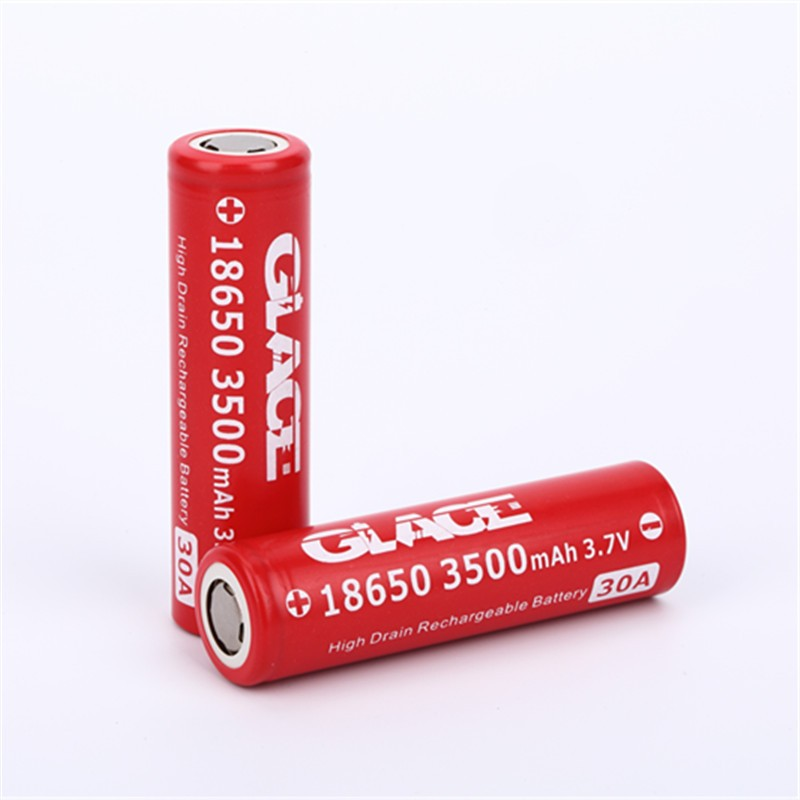Vape 18650 Glace 3500mAh lithium 3.7V high discharge battery