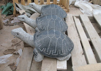 China granite stone turtle carving for landscaping