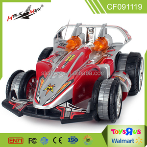 Multifunction 2.4G remote control 360 degree rotation Charging stunt rc car