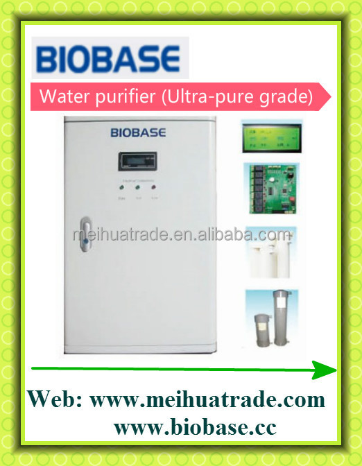 30 L/H Water purifier (Ultra-pure grade) Ultrapure water from BIOBASE China