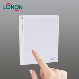 2 gang 1 way wall electric switch