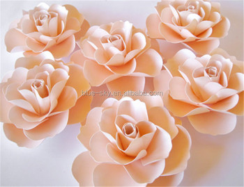 Handmade large rose paper flower decorative wall paper flowers china handmade large rose paper flower decorative wall paper flowers china wholesale wedding decoration fower stand mightylinksfo